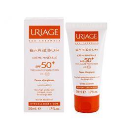 Uriage Minerální ochranný krém na obličej a tělo SPF 50+ Bariésun (Very High Protection Mineral Crea
