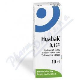 THEA LABORATOIRES , CLERMONT-FERRAND Hyabak 0.15% gtt. 10ml