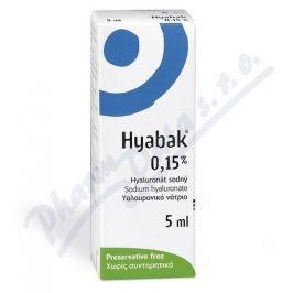 THEA LABORATOIRES , CLERMONT-FERRAND Hyabak 0.15% gtt.oph. 5ml