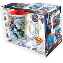 SUPERMAN HRNEK-KLÍČENKA-2 PLACKY/DC COMICS
