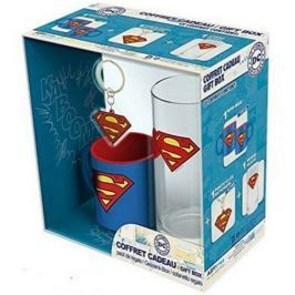 SUPERMAN HRNEK-SKLENICE-KLÍČENKA/DC COMICS