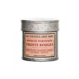 Le Chatelard Vonná svíčka v plechu Červené ovoce 100 g
