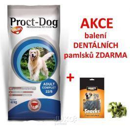 PROCT-DOG Adult COMPLET 4kg + SNACK 70g ZDARMA-14020