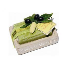 Le Chatelard Mýdlenka v imitaci kamene s luxusním francouzským mýdlem Olivové listy 100 g