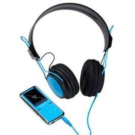 Intenso foto Intenso MP4 player 8GB Video Scooter LCD 1,8'' Blue + Headphones