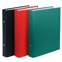 DONAU Pořadač dvoukroužkový, červený, 30 mm, A5, PP/karton,
