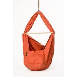 Babyvak Hacka klasik - závěsná textilní kolébka, Oranžová