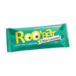 Roobar Datlová tyčinka s chia a kokosem 30g bio/raw