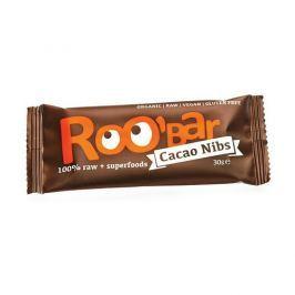 Roobar Kakaová tyčinka s mandlemi 30g bio/raw