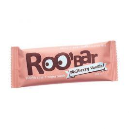 Roobar Datlová tyčinka moruše vanilka 30g bio/raw