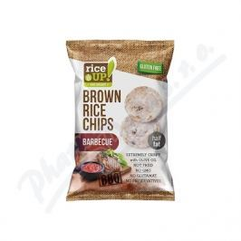 NUHEALTH Rýžové chipsy barbecue 60g