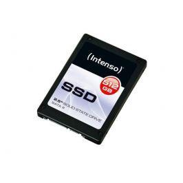 Intenso foto Intenso Interní disk SSD 512GB Sata III, 2,5'' TOP (read:500MB/s;write:490MB/s)