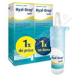 BAUSCH LOMB Hyal Drop multi - speciální balení 2x 10 ml