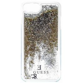 Guess Liquid Glitter Hard Pouzdro Gold pro iPhone 6/6S/7 Plus