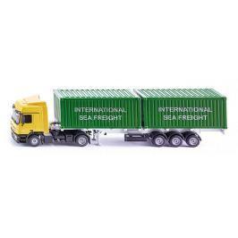 Siku Hračka  Super - LKW kamion se 2 kontejnery, 1:50