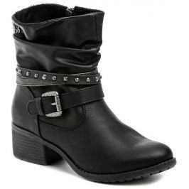 Bruno Banani 253543 černé dámské zimní boty, 37