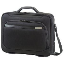 Samsonite Case  39V09001 16'' VECTURA, computer, tablet, docu, pocket, black, Černá