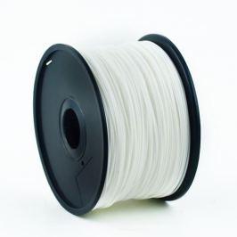 GEMBIRD Tisková struna (filament) , PLA, 1,75mm, 1kg, bílá