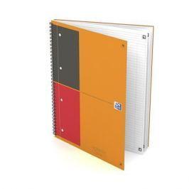 OXFORD Sešit International Notebook Connect, kroužková vazba, A4+, linkovaný, 80 list