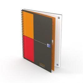OXFORD Sešit International Notebook, kroužková vazba, B5, čtverečkovaný, 80 listů, OX