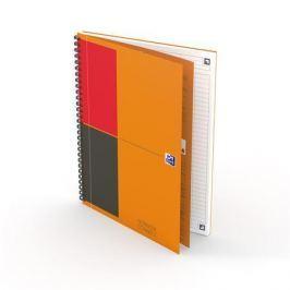 OXFORD Sešit International Notebook, kroužková vazba, B5, linkovaný, 80 listů,