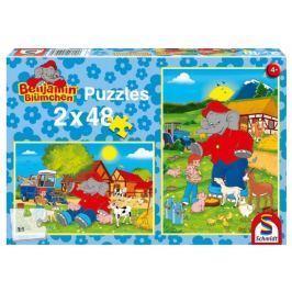 SCHMIDT Puzzle Farma 2x48 dílků
