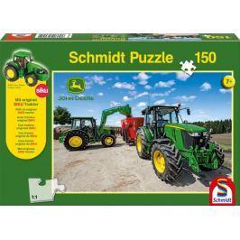 SCHMIDT Puzzle Traktory John Deere 5M 150 dílků