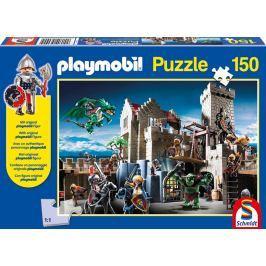 SCHMIDT Puzzle  56090 Bitva o královský poklad Playmobil postavičkou 150 dílků
