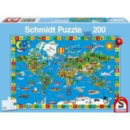 SCHMIDT Puzzle Tvůj úžasný svět 200 dílků