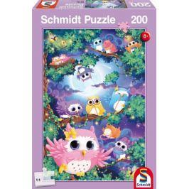 SCHMIDT Puzzle V sovím lese 200 dílků