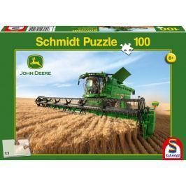 SCHMIDT Puzzle John Deere Kombajn Harvester S690 100 dílků