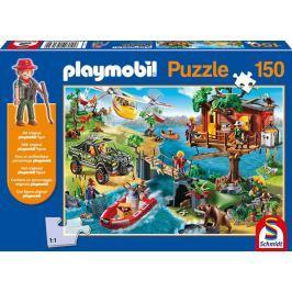 SCHMIDT Puzzle  56164 Domek na stromě Playmobil postavičkou 150 dílků