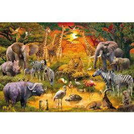 SCHMIDT Puzzle  56195 Africká zvířata 150 dílků