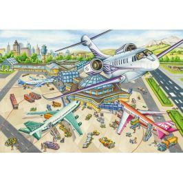 SCHMIDT Puzzle Na letišti 100 dílků