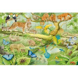 SCHMIDT Puzzle Zvířata v džungli 100 dílků