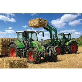 SCHMIDT Puzzle Traktory Fendt 724 Vario  a Fendt 716 Vario 100 dílků