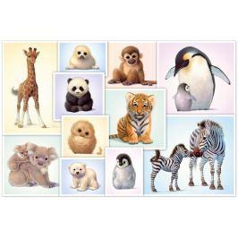 SCHMIDT Puzzle Mláďátka zvířat 200 dílků