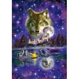 SCHMIDT Puzzle  1000 dílků - Vlk v měsíčním svitu