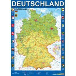 SCHMIDT Puzzle  58287 Mapa Německa 1000 dílků