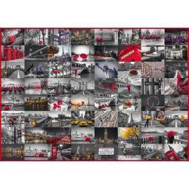 SCHMIDT Puzzle  58296 Koláž světových měst 1500 dílků