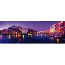 SCHMIDT Panoramatické puzzle  58299 Kanál Grande, Benátky 1000 dílků