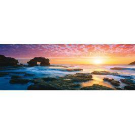 SCHMIDT Panoramatické puzzle  1000 dílků - M. Gray: Západ slunce v zátoce Bridgew