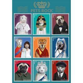 SCHMIDT Puzzle  1000 dílků - Pets Rock - Významné osobnosti