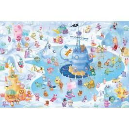 SCHMIDT Puzzle  59371 Strachojedlíci: Zimní zábava 1000 dílků