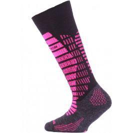 Lasting SJR dětské lyžařské ponožky, 24 28, Modrá