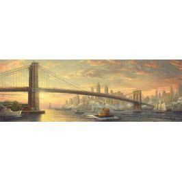 SCHMIDT Panoramatické puzzle  59476 Brooklynský most, New York 1000 dílků