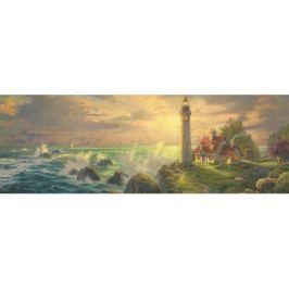 SCHMIDT Panoramatické puzzle  59477 Světlo majáku 1000 dílků