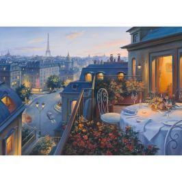 SCHMIDT Puzzle  59562 Romantický večer v Paříži 1000 dílků