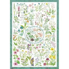 SCHMIDT Puzzle  59568 Květiny a rostliny 1000 dílků