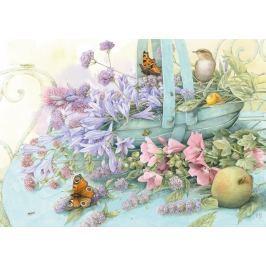 SCHMIDT Puzzle Košík s květinami 1000 dílků